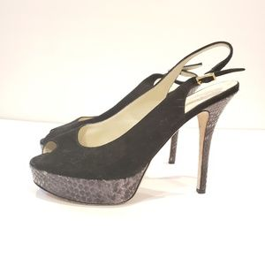 timeless design 2a87b 9a469 ... Bettye Muller made in Italy size 39 platform ...